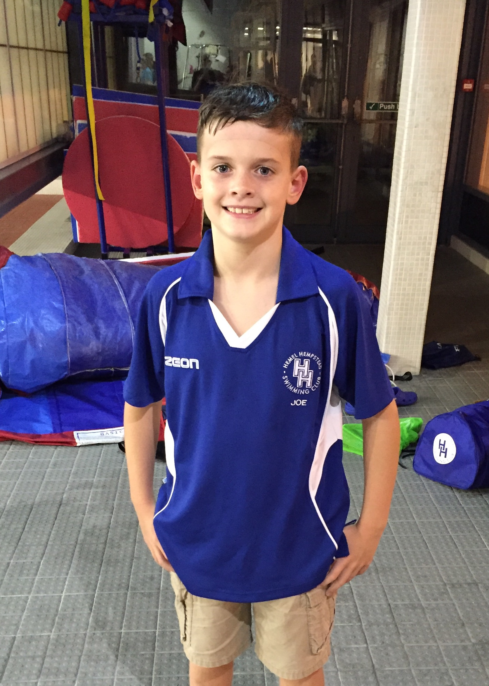 swimmer of the month - september 2016 - boy