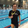 Jack Spence 50 free silver at 2015 Winter Regionals 2